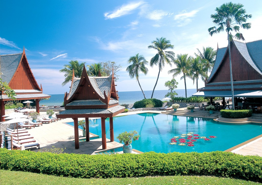 Chiva-Som International Health Resort in Hua Hin, Thailand