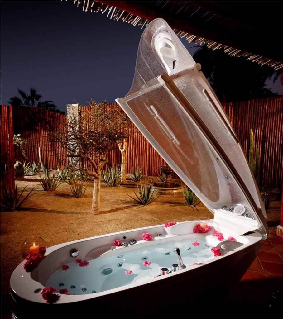 Spa Pod in Las Ventanas al Paraiso