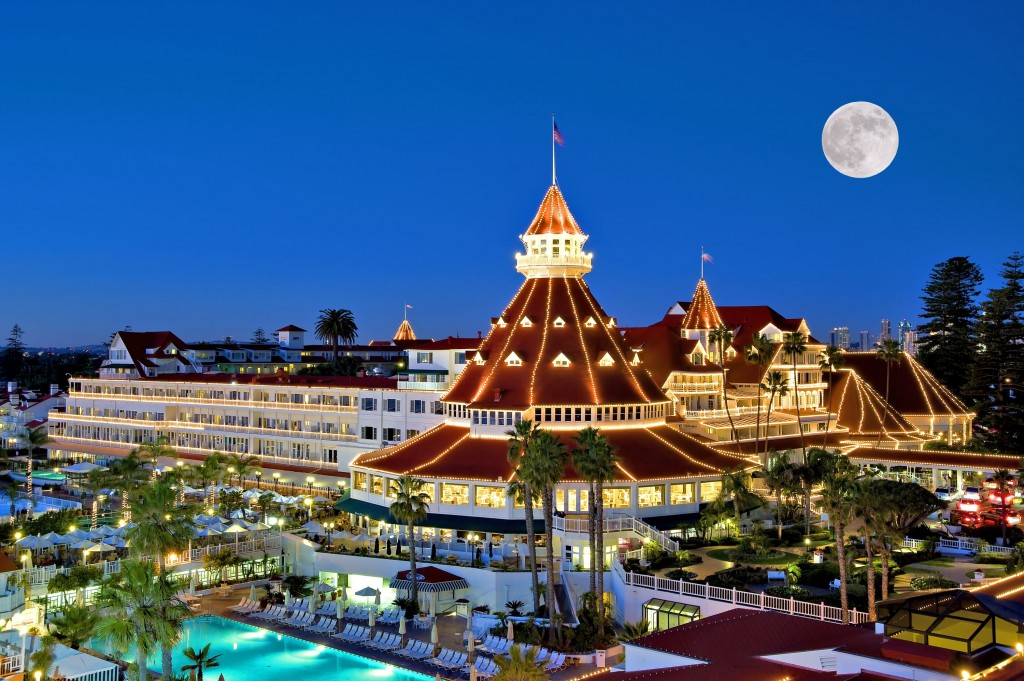 The Hotel Del Coronado in San Diego