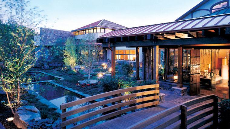 Woodlands Spa at Nemacolin Woodlands Resort Exterior