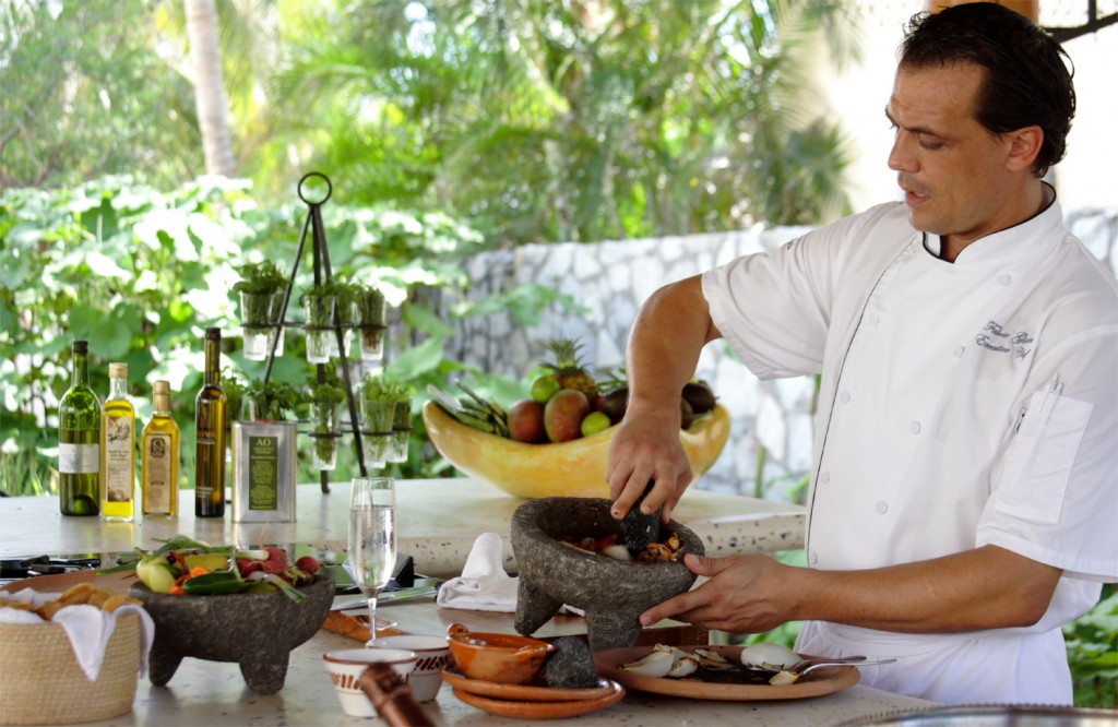 Executive Chef Fabrice Guisset at Las Ventanas al Paraiso