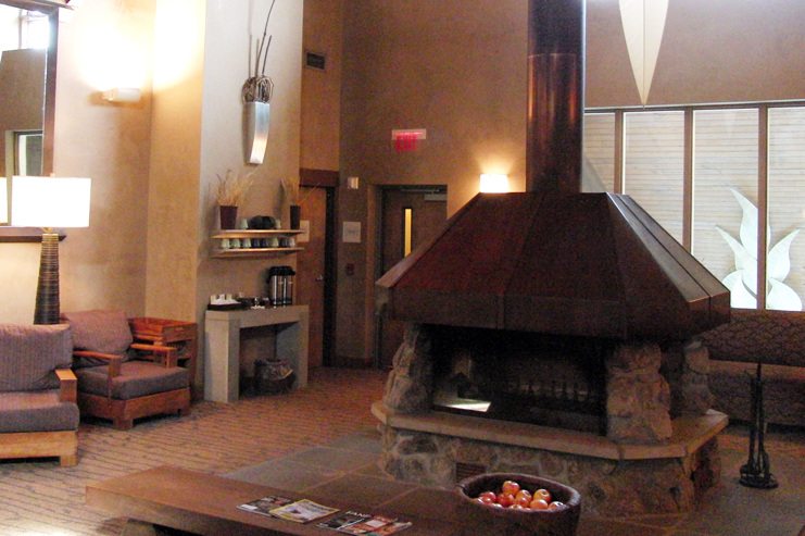Nemacolin Woodlands' Spa lounge