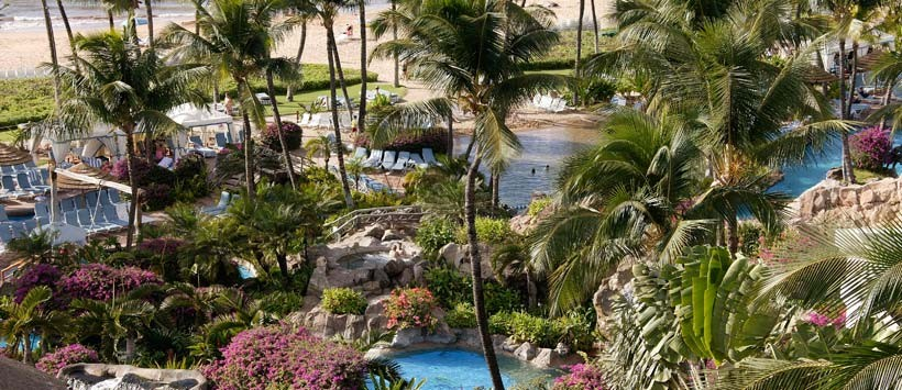 The Grand Wailea's Spa Grande